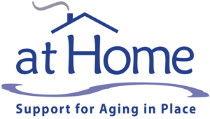 [logo] At Home, Support for Aging in Place